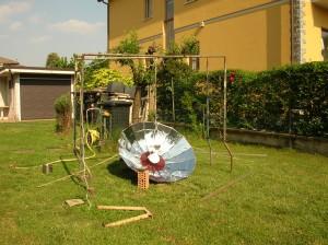 Solar umbrella